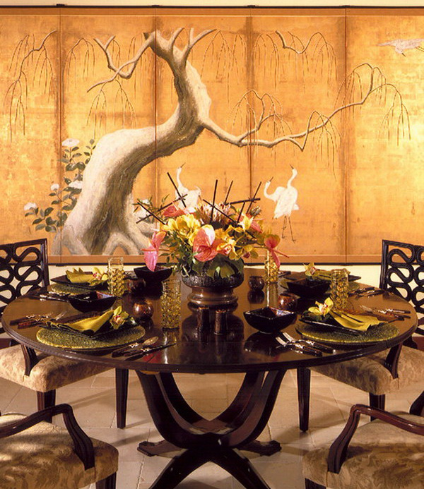 Japanese Painting Wallpaper Japanese Style Hand Painted